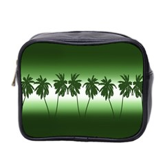 Tropical Sunset Mini Toiletries Bag 2 Side by Valentinaart
