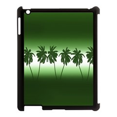Tropical Sunset Apple Ipad 3/4 Case (black) by Valentinaart