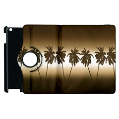 Tropical Sunset Apple Ipad 3/4 Flip 360 Case by Valentinaart