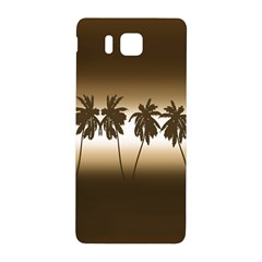 Tropical Sunset Samsung Galaxy Alpha Hardshell Back Case by Valentinaart