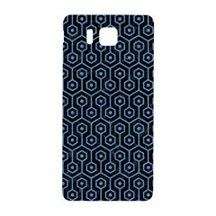 Hexagon1 Black Marble & Blue Colored Pencil Samsung Galaxy Alpha Hardshell Back Case by trendistuff