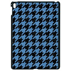 Houndstooth1 Black Marble & Blue Colored Pencil Apple Ipad Pro 9 7   Black Seamless Case by trendistuff