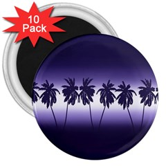 Tropical Sunset 3  Magnets (10 Pack)  by Valentinaart