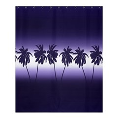 Tropical Sunset Shower Curtain 60  X 72  (medium)  by Valentinaart