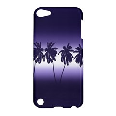 Tropical Sunset Apple Ipod Touch 5 Hardshell Case by Valentinaart