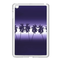 Tropical Sunset Apple Ipad Mini Case (white) by Valentinaart