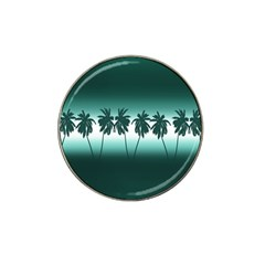 Tropical Sunset Hat Clip Ball Marker (10 Pack) by Valentinaart