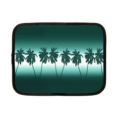 Tropical Sunset Netbook Case (small)  by Valentinaart