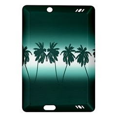 Tropical Sunset Amazon Kindle Fire Hd (2013) Hardshell Case by Valentinaart