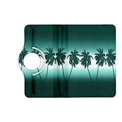 Tropical Sunset Kindle Fire Hd (2013) Flip 360 Case by Valentinaart