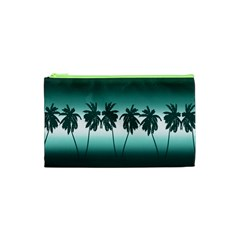 Tropical Sunset Cosmetic Bag (xs) by Valentinaart