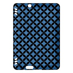Circles3 Black Marble & Blue Colored Pencil (r) Kindle Fire Hdx Hardshell Case by trendistuff