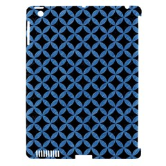 Circles3 Black Marble & Blue Colored Pencil Apple Ipad 3/4 Hardshell Case (compatible With Smart Cover) by trendistuff