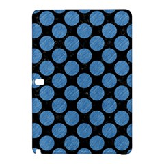 Circles2 Black Marble & Blue Colored Pencil Samsung Galaxy Tab Pro 10 1 Hardshell Case by trendistuff