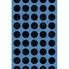 Circles1 Black Marble & Blue Colored Pencil (r) 5 5  X 8 5  Notebook by trendistuff