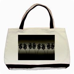 Tropical Sunset Basic Tote Bag (two Sides) by Valentinaart