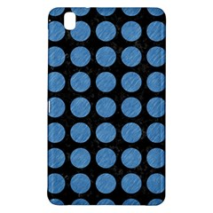 Circles1 Black Marble & Blue Colored Pencil Samsung Galaxy Tab Pro 8 4 Hardshell Case by trendistuff