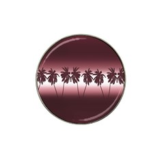 Tropical Sunset Hat Clip Ball Marker (4 Pack) by Valentinaart