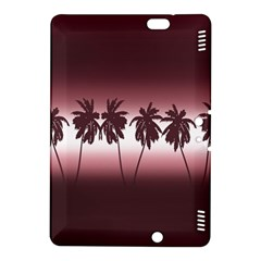 Tropical Sunset Kindle Fire Hdx 8 9  Hardshell Case by Valentinaart