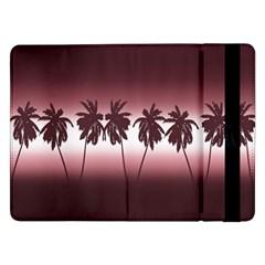 Tropical Sunset Samsung Galaxy Tab Pro 12 2  Flip Case by Valentinaart