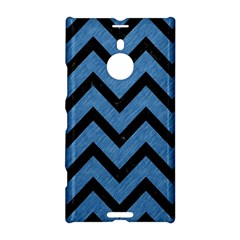 Chevron9 Black Marble & Blue Colored Pencil (r) Nokia Lumia 1520 Hardshell Case by trendistuff