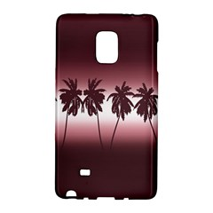 Tropical Sunset Galaxy Note Edge by Valentinaart