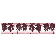 Tropical Sunset Flano Scarf (small) by Valentinaart
