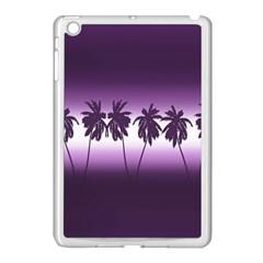 Tropical Sunset Apple Ipad Mini Case (white) by Valentinaart