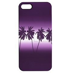 Tropical Sunset Apple Iphone 5 Hardshell Case With Stand