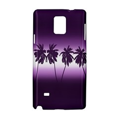 Tropical Sunset Samsung Galaxy Note 4 Hardshell Case by Valentinaart