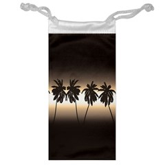 Tropical Sunset Jewelry Bag by Valentinaart