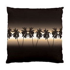 Tropical Sunset Standard Cushion Case (two Sides) by Valentinaart