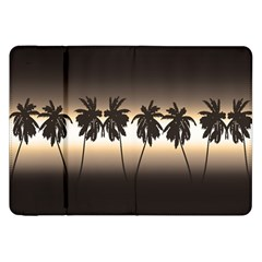 Tropical Sunset Samsung Galaxy Tab 8 9  P7300 Flip Case by Valentinaart