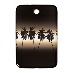 Tropical Sunset Samsung Galaxy Note 8 0 N5100 Hardshell Case  by Valentinaart