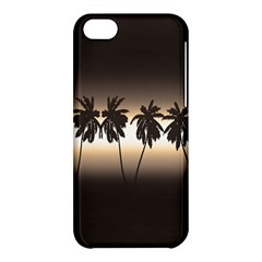 Tropical Sunset Apple Iphone 5c Hardshell Case by Valentinaart