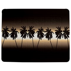 Tropical Sunset Jigsaw Puzzle Photo Stand (rectangular) by Valentinaart