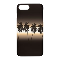 Tropical Sunset Apple Iphone 7 Plus Hardshell Case by Valentinaart