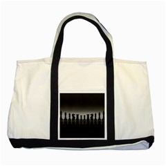 Chess Pieces Two Tone Tote Bag by Valentinaart