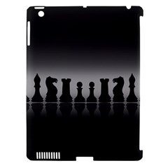 Chess Pieces Apple Ipad 3/4 Hardshell Case (compatible With Smart Cover) by Valentinaart