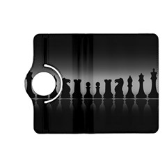 Chess Pieces Kindle Fire Hd (2013) Flip 360 Case by Valentinaart