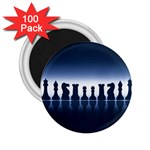 Chess Pieces 2.25  Magnets (100 pack)  Front