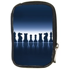 Chess Pieces Compact Camera Cases by Valentinaart