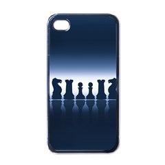 Chess Pieces Apple Iphone 4 Case (black) by Valentinaart