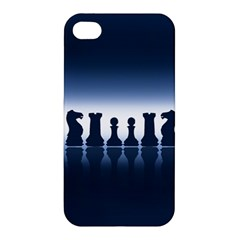 Chess Pieces Apple Iphone 4/4s Hardshell Case by Valentinaart