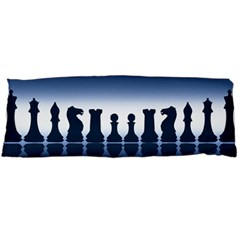Chess Pieces Body Pillow Case Dakimakura (two Sides) by Valentinaart