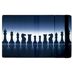Chess Pieces Apple Ipad 3/4 Flip Case by Valentinaart