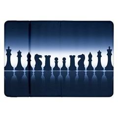 Chess Pieces Samsung Galaxy Tab 8 9  P7300 Flip Case by Valentinaart