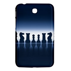 Chess Pieces Samsung Galaxy Tab 3 (7 ) P3200 Hardshell Case  by Valentinaart