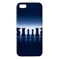 Chess Pieces Iphone 5s/ Se Premium Hardshell Case by Valentinaart