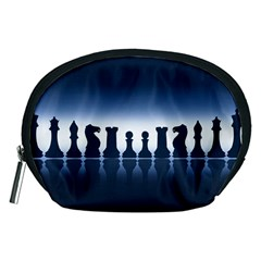Chess Pieces Accessory Pouches (medium)  by Valentinaart
